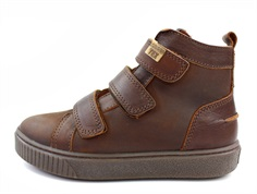 Bisgaard winter sneakers brandy with velcro and TEX