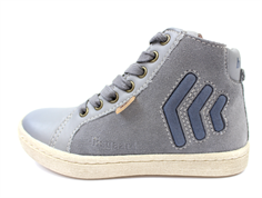Bisgaard winter sneakers gray with zip and TEX