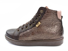 Bisgaard winter sneakers charcoal with zipper and TEX
