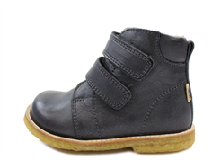 Bisgaard winter boot black with velcro and TEX