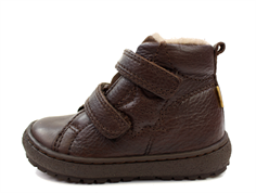Bisgaard winter toddler shoes brown with velcro and TEX