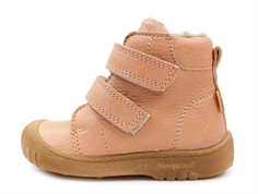 Bisgaard winter boots nude with velcro and TEX