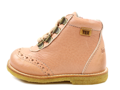 Bisgaard winter boots nude with zipper and TEX