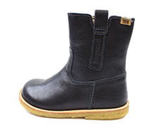Bisgaard winter boot black with zip and TEX