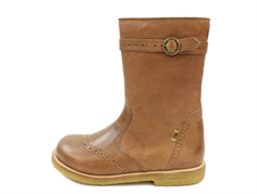 Bisgaard winter boot tan zip and TEX