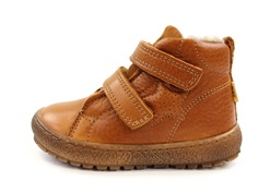 Bisgaard winter toddler shoe cognac with velcro and TEX