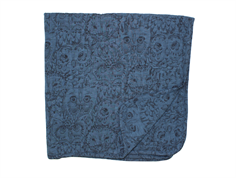 Soft Gallery blanket orion blue owl