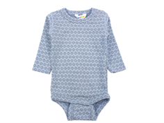 Joha body square blue wool