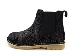 Bundgaard ancle boot Cajsa gold flower