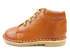 Bundgaard Oma shoes tan savage with laces