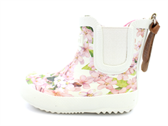 Bisgaard rubber boot cream flowers