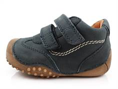 Bundgaard Biis Prewalker navy with rubber sole and velcro
