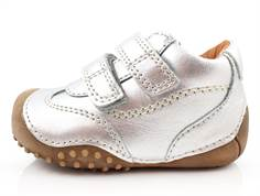 Bundgaard Biis Prewalker silver with rubber sole and velcro