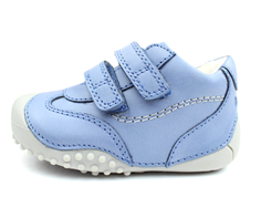 Bundgaard Biis Prewalker ice blue with rubber sole and velcro