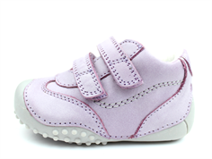 Bundgaard Biis Prewalker lilac with rubber sole and velcro