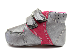 Bundgaard Prewalker pewter/fuchsia with velcro