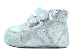 Bundgaard Prewalker green glitter with velcro