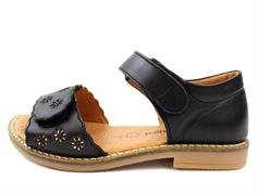 379255165f01 Bundgaard Alma sandal black flowers