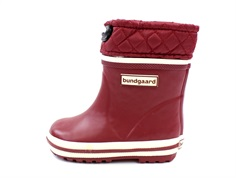 Bundgaard winter rubber boot short burgundy sailor