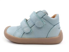 Bundgaard Walk toddler shoes jeans mint with velcro