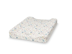 Cam Cam changing mat pressed leaves