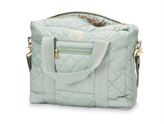 Cam Cam diaper bag misty green