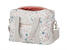 Cam Cam diaper bag pressed leaves rose