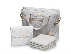 Cam Cam diaper bag bundle gray