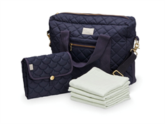 Cam Cam diaper bag bundle navy