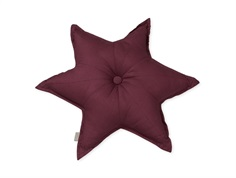 Cam Cam star pillow bordeaux