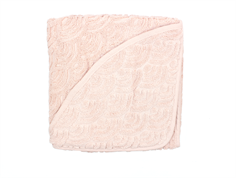 Cam Cam baby towel hooded rose