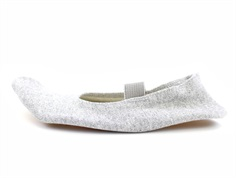 Carite balance gym shoes silver glitter