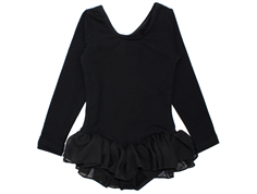 Carite gym suit ballet chiffon black