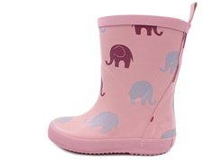CeLaVi rubber boot rose with elephants