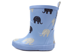 CeLaVi rubber boot dry blue with elephants