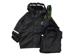 CeLaVi rainwear pants and jacket black