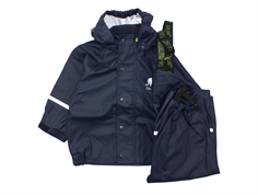 CeLaVi rainwear pants and jacket dark navy