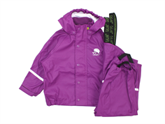 CeLaVi rainwear pants and jacket lilac