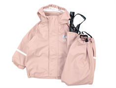CeLaVi rainwear pants and jacket misty rose