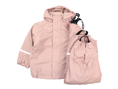 CeLaVi rainwear pants and jacket with lining misty rose
