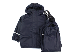 CeLaVi rainwear pants and jacket with lining navy