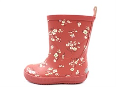 CeLaVi rubber boot redwood with flowers