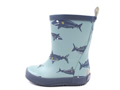 CeLaVi rubber boot smoke blue with sharks