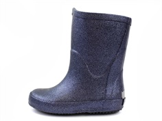 CeLaVi rubber boot navy glitter