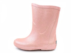 CeLaVi rubber boot misty rose glitter