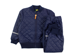 CeLaVi thermal jacket and pants PU dark navy
