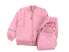 CeLaVi thermal jacket and pants PU rose