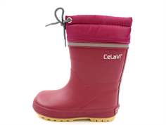 CeLaVi winter rubber boot maroon