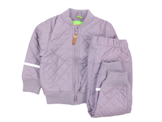 CeLaVi thermal suit PU fleece lining Nirvana lavender