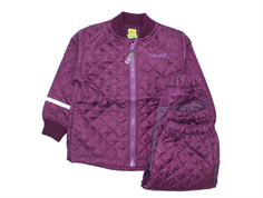CeLaVi thermal suit blackberry wine